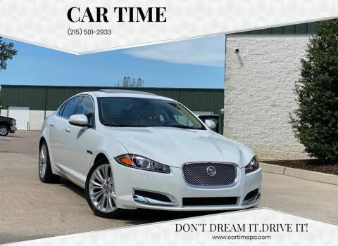 2012 Jaguar XF for sale at Car Time in Philadelphia PA
