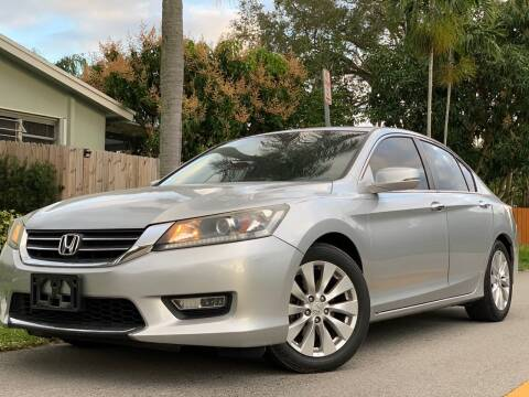 2013 Honda Accord for sale at HIGH PERFORMANCE MOTORS in Hollywood FL