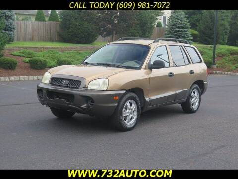 2001 Hyundai Santa Fe for sale at Absolute Auto Solutions in Hamilton NJ