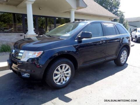 2008 Ford Edge for sale at DEALS UNLIMITED INC in Portage MI