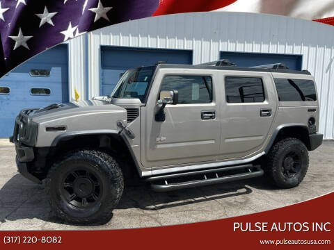 2003 HUMMER H2 for sale at Pulse Autos Inc in Indianapolis IN