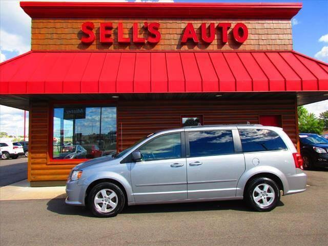 2013 Dodge Grand Caravan for sale at Sells Auto INC in Saint Cloud MN