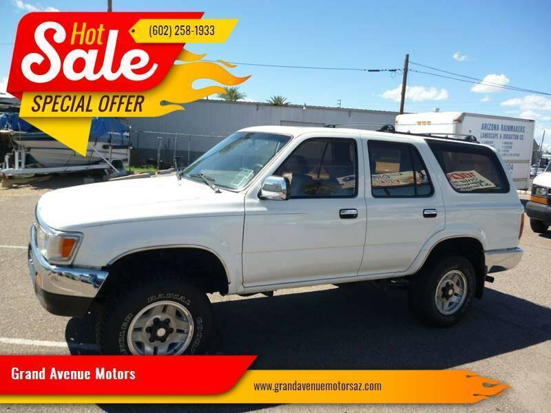 1995 Toyota 4Runner for sale at Grand Avenue Motors in Phoenix AZ