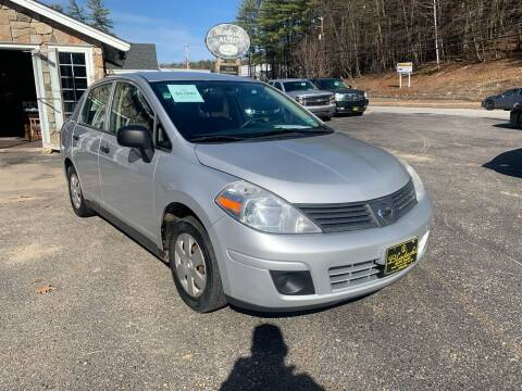2009 Nissan Versa for sale at Bladecki Auto in Belmont NH