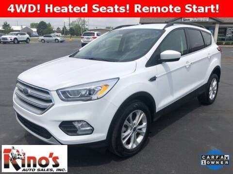 2019 Ford Escape for sale at Rino's Auto Sales in Celina OH