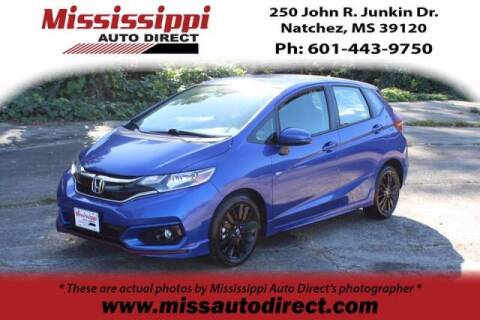 2018 Honda Fit for sale at Auto Group South - Mississippi Auto Direct in Natchez MS
