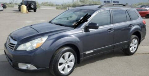 2011 Subaru Outback for sale at BELOW BOOK AUTO SALES in Idaho Falls ID