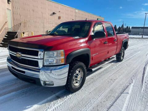 2009 Chevrolet Silverado 2500HD for sale at BELOW BOOK AUTO SALES in Idaho Falls ID
