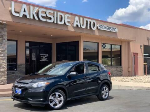 2018 Honda HR-V for sale at Lakeside Auto Brokers in Colorado Springs CO