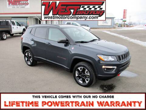 2018 Jeep Compass for sale at West Motor Company in Preston ID