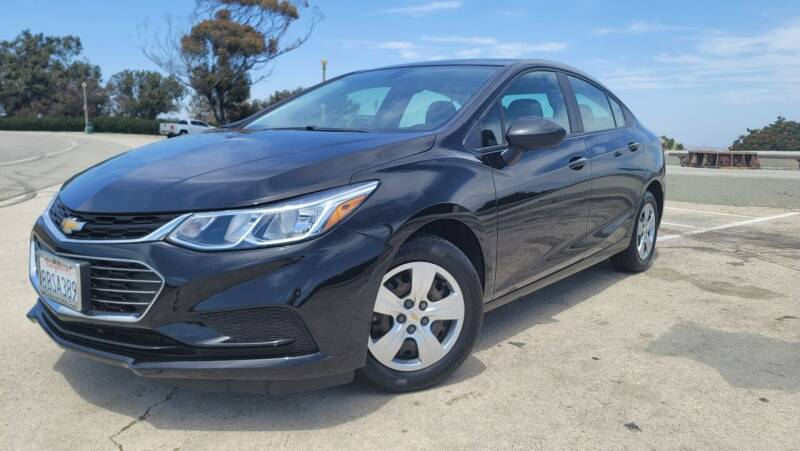 2017 Chevrolet Cruze for sale at L.A. Vice Motors in San Pedro CA