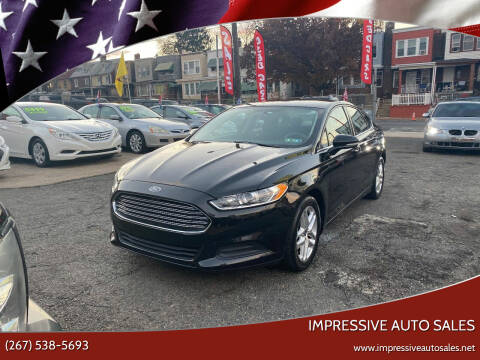 2014 Ford Fusion for sale at Impressive Auto Sales in Philadelphia PA