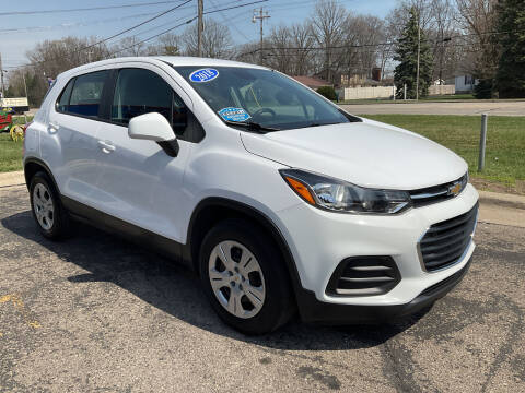 2018 Chevrolet Trax for sale at A 1 Motors in Monroe MI