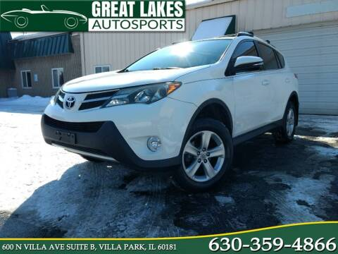 2013 Toyota RAV4 for sale at Great Lakes AutoSports in Villa Park IL