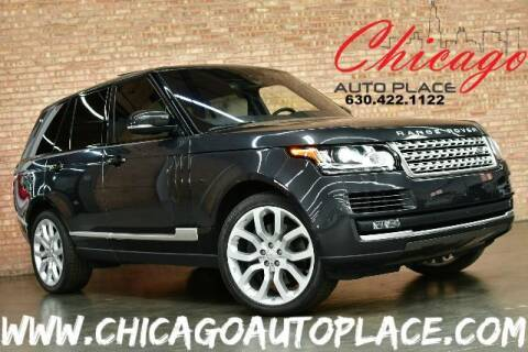 2016 Land Rover Range Rover for sale at Chicago Auto Place in Bensenville IL
