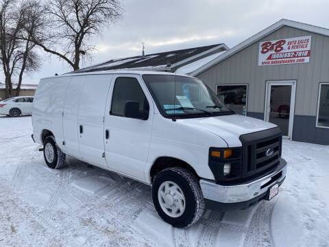 2009 Ford E-Series Cargo for sale at B & B Auto Sales in Brookings SD