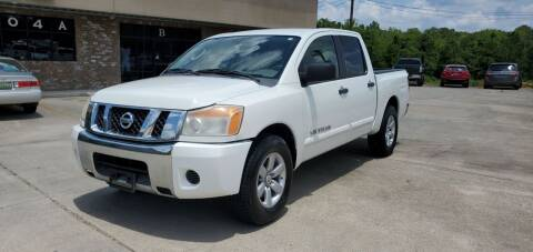 2009 Nissan Titan for sale at WHOLESALE AUTO GROUP in Mobile AL