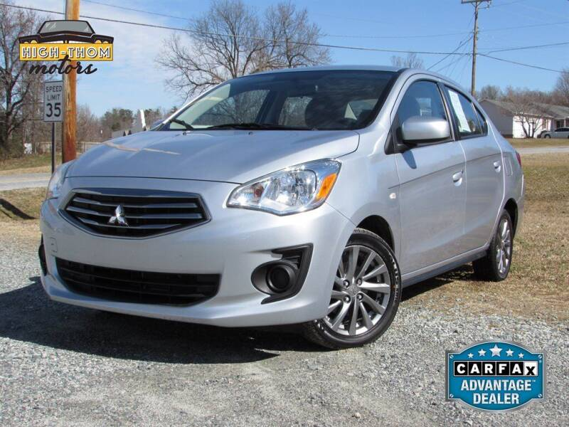 2019 Mitsubishi Mirage G4 for sale at High-Thom Motors in Thomasville NC