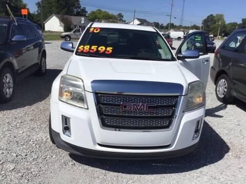2010 GMC Terrain for sale at K & E Auto Sales in Ardmore AL
