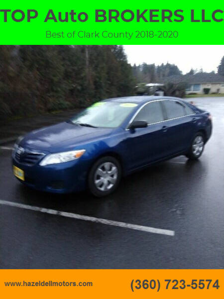 2011 Toyota Camry for sale at TOP Auto BROKERS LLC in Vancouver WA