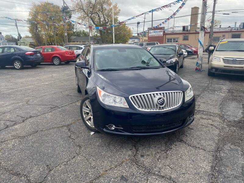 2012 Buick LaCrosse for sale at Some Auto Sales in Hammond IN