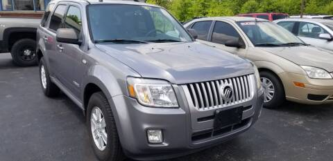 2008 Mercury Mariner for sale at Country Auto Sales in Boardman OH
