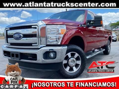 2015 Ford F-250 Super Duty for sale at ATLANTA TRUCK CENTER LLC in Brookhaven GA