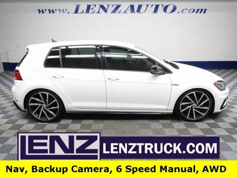 2018 Volkswagen Golf R for sale at LENZ TRUCK CENTER in Fond Du Lac WI