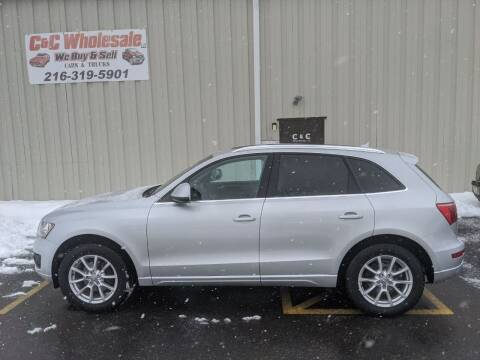 2012 Audi Q5 for sale at C & C Wholesale in Cleveland OH