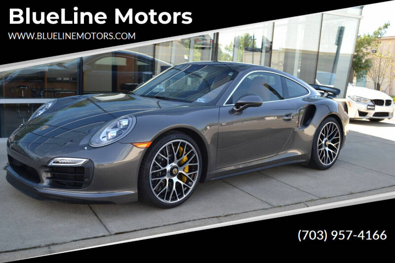 2015 Porsche 911 for sale at Blue Line Motors in Winchester VA