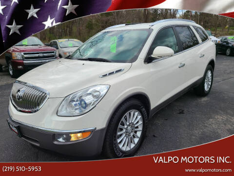 2012 Buick Enclave for sale at Valpo Motors Inc. in Valparaiso IN