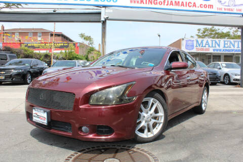 2013 Nissan Maxima for sale at MIKEY AUTO INC in Hollis NY