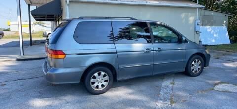 2002 Honda Odyssey for sale at Family Auto Sales of Johnson City in Johnson City TN