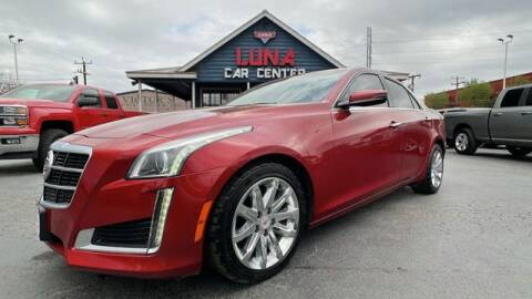 2014 Cadillac CTS for sale at LUNA CAR CENTER in San Antonio TX