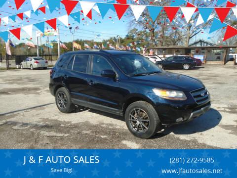 2008 Hyundai Santa Fe for sale at J & F AUTO SALES in Houston TX