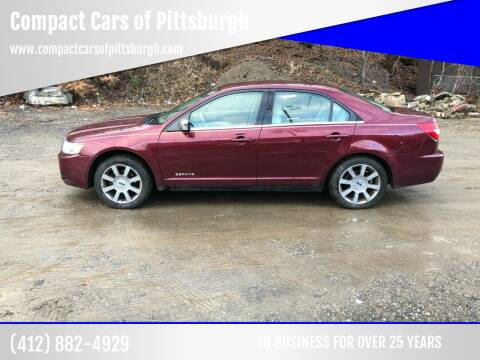 2006 Lincoln Zephyr for sale at Compact Cars of Pittsburgh in Pittsburgh PA
