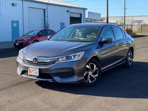 2017 Honda Accord for sale at SUPER AUTO SALES STOCKTON in Stockton CA