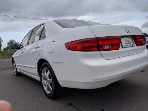 2005 Honda Accord for sale at M AND S CAR SALES LLC in Independence OR