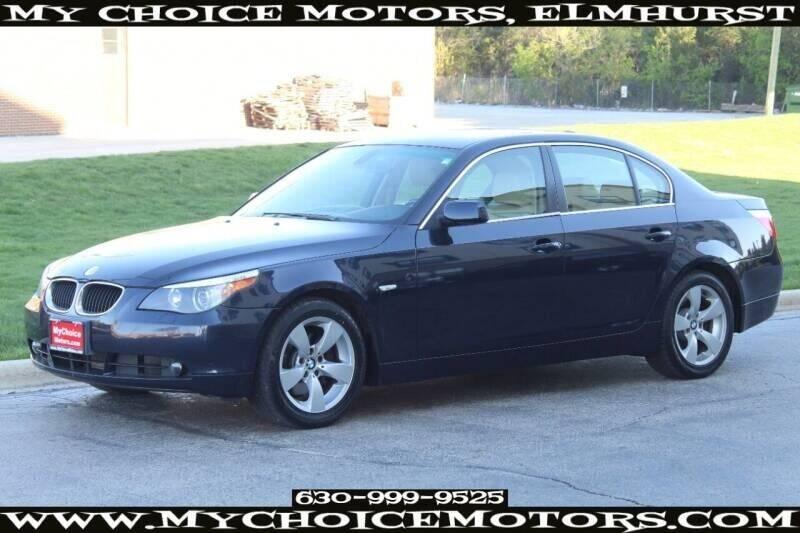 2005 BMW 5 Series for sale at My Choice Motors Elmhurst in Elmhurst IL