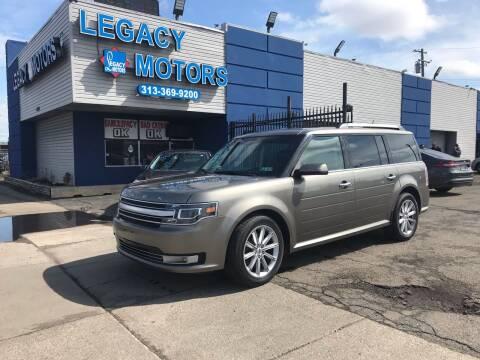2013 Ford Flex for sale at Legacy Motors in Detroit MI