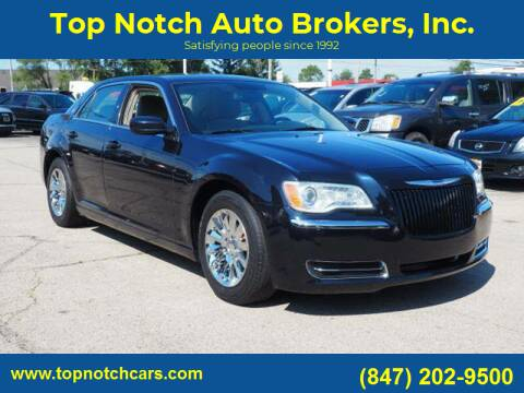 2012 Chrysler 300 for sale at Top Notch Auto Brokers, Inc. in Palatine IL