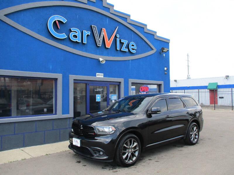 2015 Dodge Durango for sale at Carwize in Detroit MI
