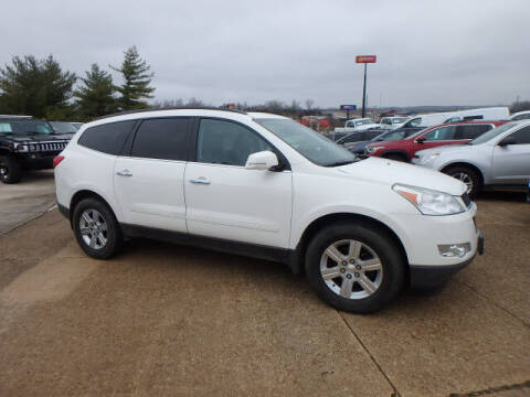2012 Chevrolet Traverse for sale at BLACKWELL MOTORS INC in Farmington MO