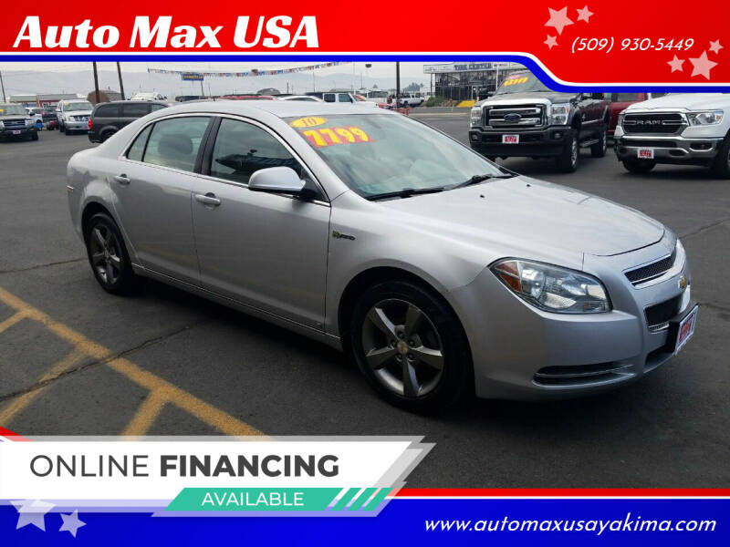2010 Chevrolet Malibu Hybrid for sale at Auto Max USA in Yakima WA