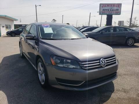 2013 Volkswagen Passat for sale at Jamrock Auto Sales of Panama City in Panama City FL