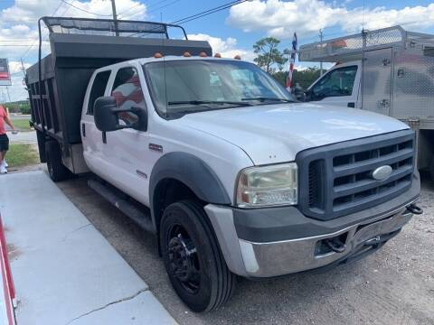 2007 Ford F-550 Super Duty for sale at The Truck Lot LLC in Lakeland FL