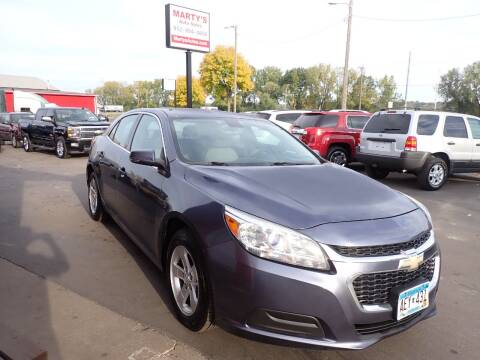 2014 Chevrolet Malibu for sale at Marty's Auto Sales in Savage MN