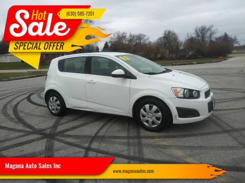 2012 Chevrolet Sonic for sale at Magana Auto Sales Inc in Aurora IL