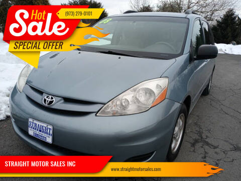 2008 Toyota Sienna for sale at STRAIGHT MOTOR SALES INC in Paterson NJ
