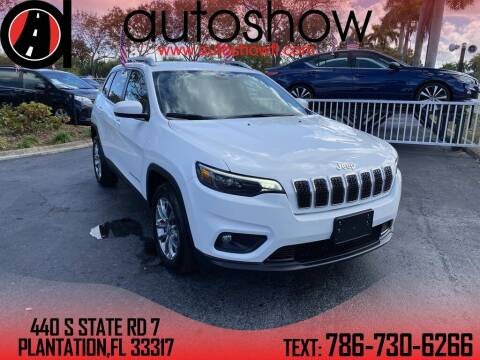 2020 Jeep Cherokee for sale at AUTOSHOW SALES & SERVICE in Plantation FL